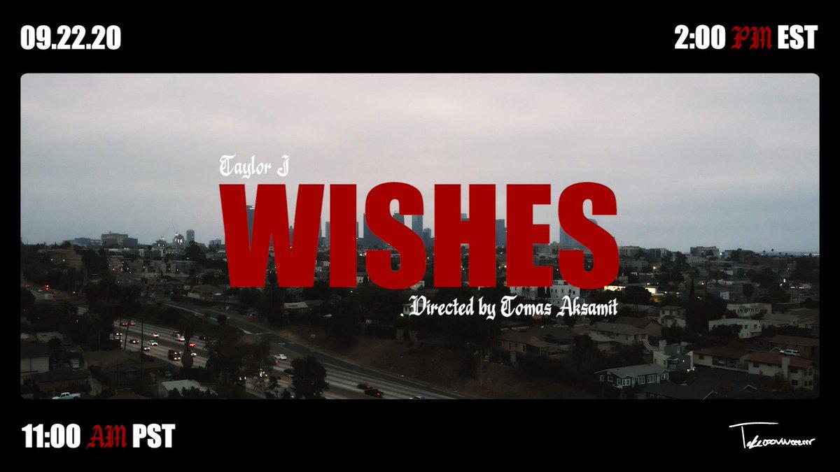 New work drops tomorrow!!   #takeooovvveeerrr #musicvideo #director #losangeles #wishes https://t.co/RI0vWXNOmF