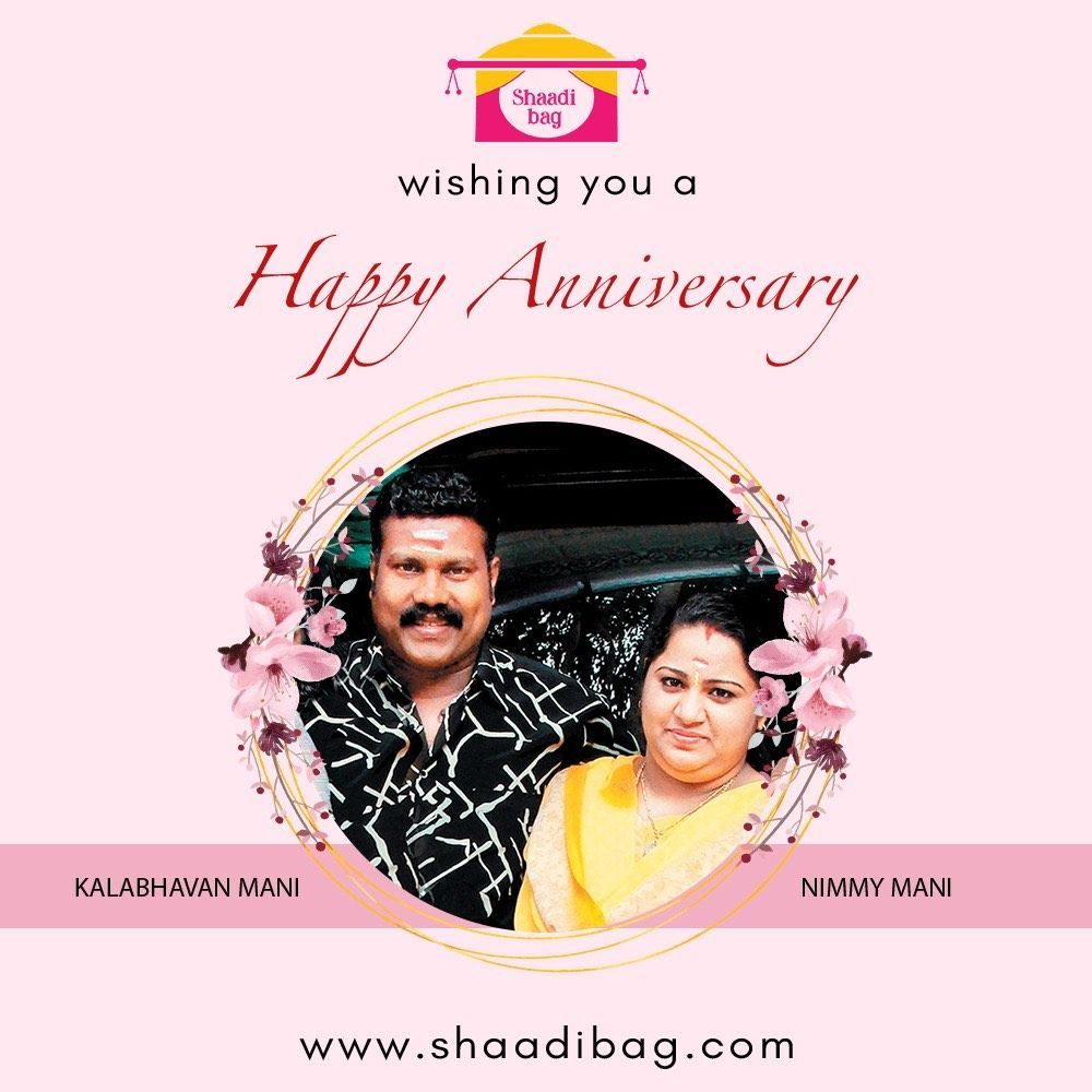 """""""To another year walking life's path hand-in-hand and heart-in-heart!"""" @shaadibag wishes @kalabhavanmani and #nimmymani a happy wedding anniversary. . . #kalabhavanmanil #Malayalam #actor #malayalamactor #nimmymani #wedding #annivesary #indianactor #teluguactor https://t.co/Bd1gYZk7vD"""