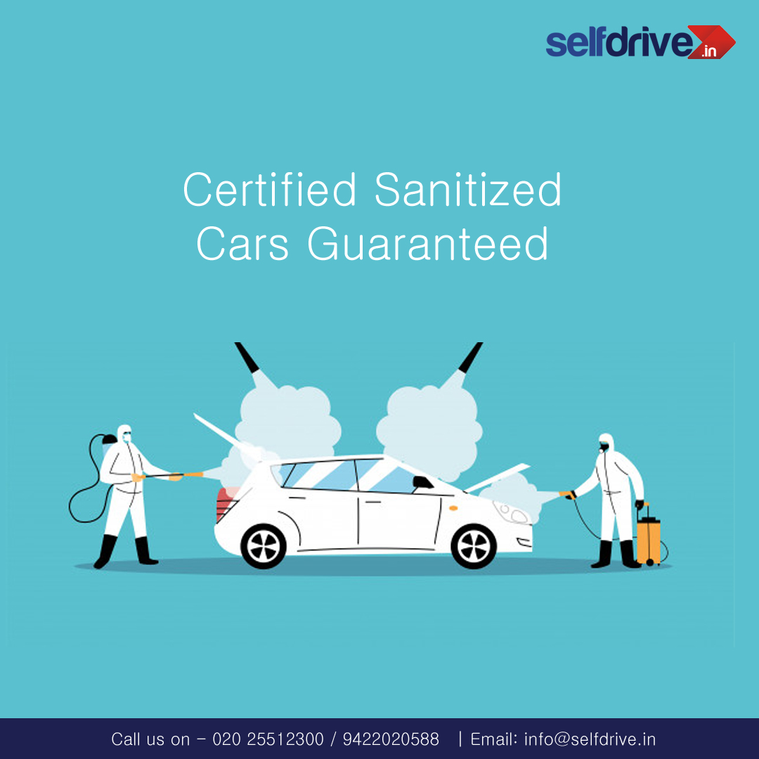 Your safety is our priority!  #staysafe #sanitizedcars #India #mumbai #pune #delhi #nasik #chandigarh #goa #rentalcars #selfdrive #dealerauthorised #safety https://t.co/5uNJrOCyPY