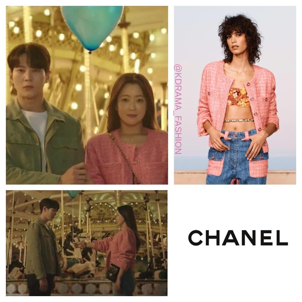 Kim Hee-Sun wore CHANEL Resort 2021 Collection in Alice Episode 7. #kimheesun #김희선 #앨리스 #드라마패션 #샤넬 #CHANEL #Alice #kimheesunstyle #kdrama_fashion_kimheesun #alicedrama_fashion #kimheesunfashion https://t.co/1Nmbx9fmlP