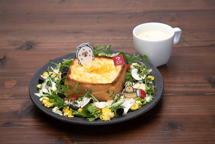 「喫茶自分ツッコミくまCAFE&BAR おかわり!!」新作パフェやグラタントースト増えパワーアップ#グルメ #カフェ ▼写真・記事詳細はこちら