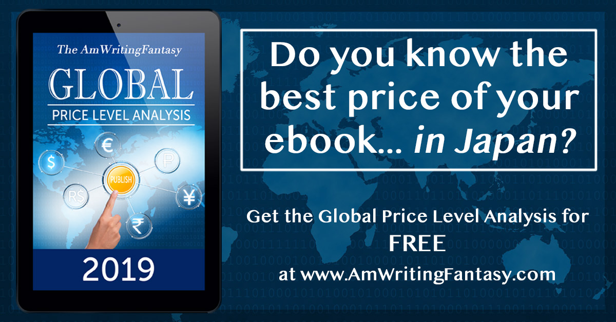 Do you know the best price for your ebook... in Japan or the Netherlands or...? No? Then get the new Global Price Analysis Download for free and price your book competitively! https://t.co/Oas2cxFFec #amwritingfantasy #amwriting #writingtips https://t.co/6Zf2RiqxAu