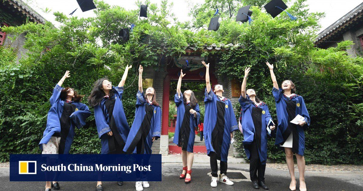 China's overseas graduates return in record numbers into already crowded domestic job market #China #china #graduate #Graduation2020 #graduation #jobs #JobSeeker #employment #Unemployment  https://t.co/BP0tfEVKR3 https://t.co/2hBx8LBs0K