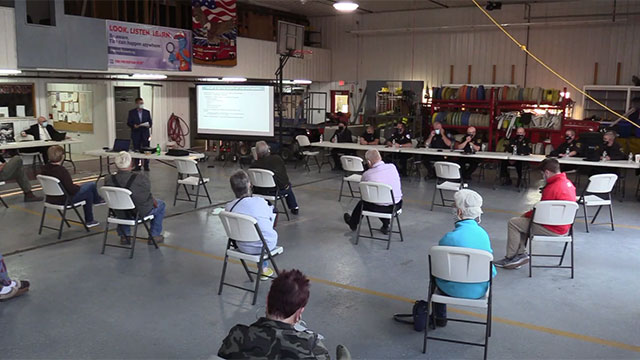 WATCH: Seneca County Police Reform Forum at Ovid Fire Department (video)