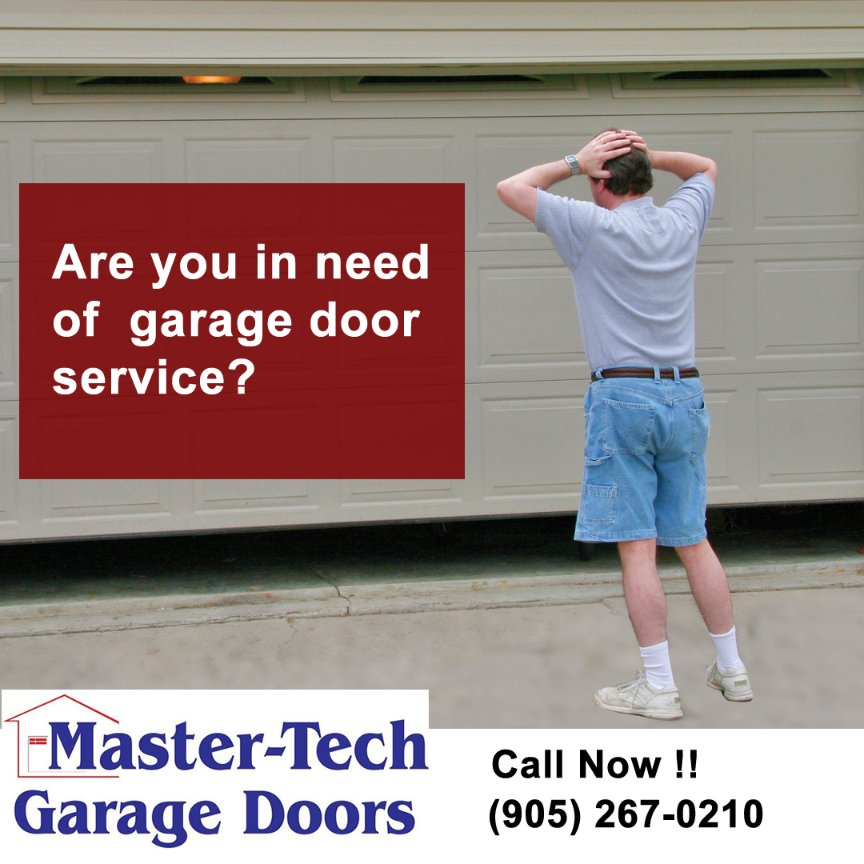 Are you in need of garage door service? If so, you need to contact the professionals at Master Tech Garage Doors Mississauga.   Master Tech Garage Doors  Call Us (905) 267-0210 #Mississauga  #Brampton #Oakville #Milton #Toronto #FixGarageDoor #garagedoor #garagedoorrepair https://t.co/glC9tN9zLa