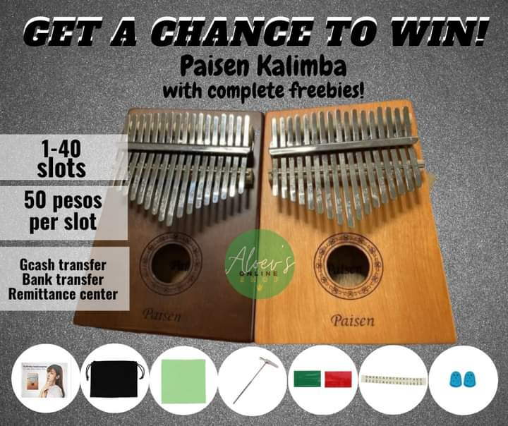 RAFFLE🎊  Don't miss your chance to win 17 keys Kalimba🎹✨  We only have 40 slots available. Hurry up and save your slots now🍀  #kalimba #promo #raffle   https://t.co/CMEmfGea2b https://t.co/MaMkNbIROp