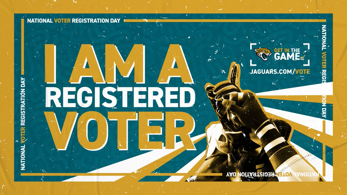 Its #NationalVoterRegistrationDay RT this if youre registered to vote!