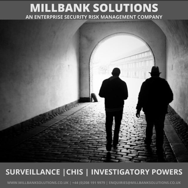 If you are an organisation utilising #covert #investigation and #intelligence gathering assets, you must make sure you are doing so lawfully.  Our consultants are highly experienced and able to assist with #riskassessment, case management and #compliance.  #localauthority #risk https://t.co/0jKOBxpnjz