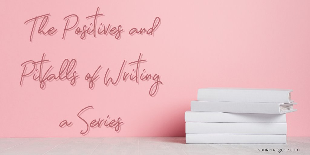 The Positives and Pitfalls of Writing a Series   #writerslife #bookmarketing #bookseries #WritingCommunity   https://t.co/3SEocjfP5g  via @V_Rheault https://t.co/FTc34MN8fk