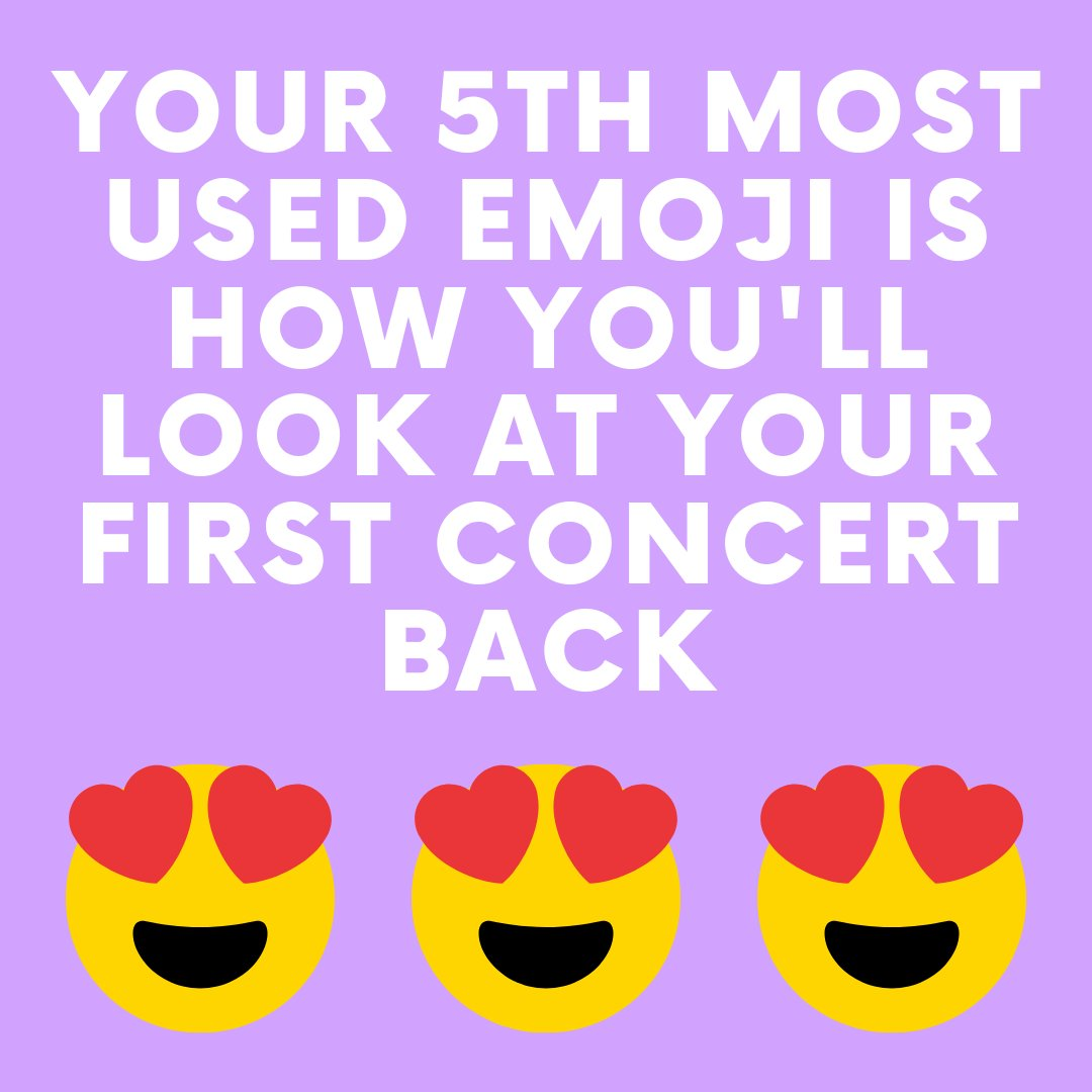 How are you going to feel at that 1st concert back? https://t.co/MjKjWnzIYK