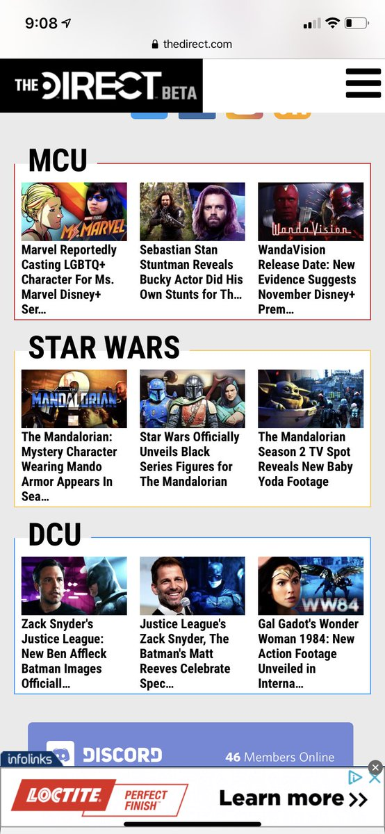 The last 3 @MCU_Direct articles and the top one from @DCU_Direct over the past few days, damn I've been busy! #MCU #DCEU #writerslife #typingmachine #lovinglife https://t.co/Q5KPnS3cfp