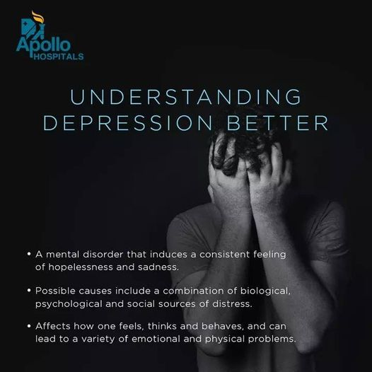 According to the WHO, nearly 264 million people are suffering from depression across the world. Although many of us are not aware that depression is a disease like any other disease,  #depression #mentalhealth  #mentalhealthawareness #depressionawareness #BreaktheStigmaIndia https://t.co/UPYUmutdi5