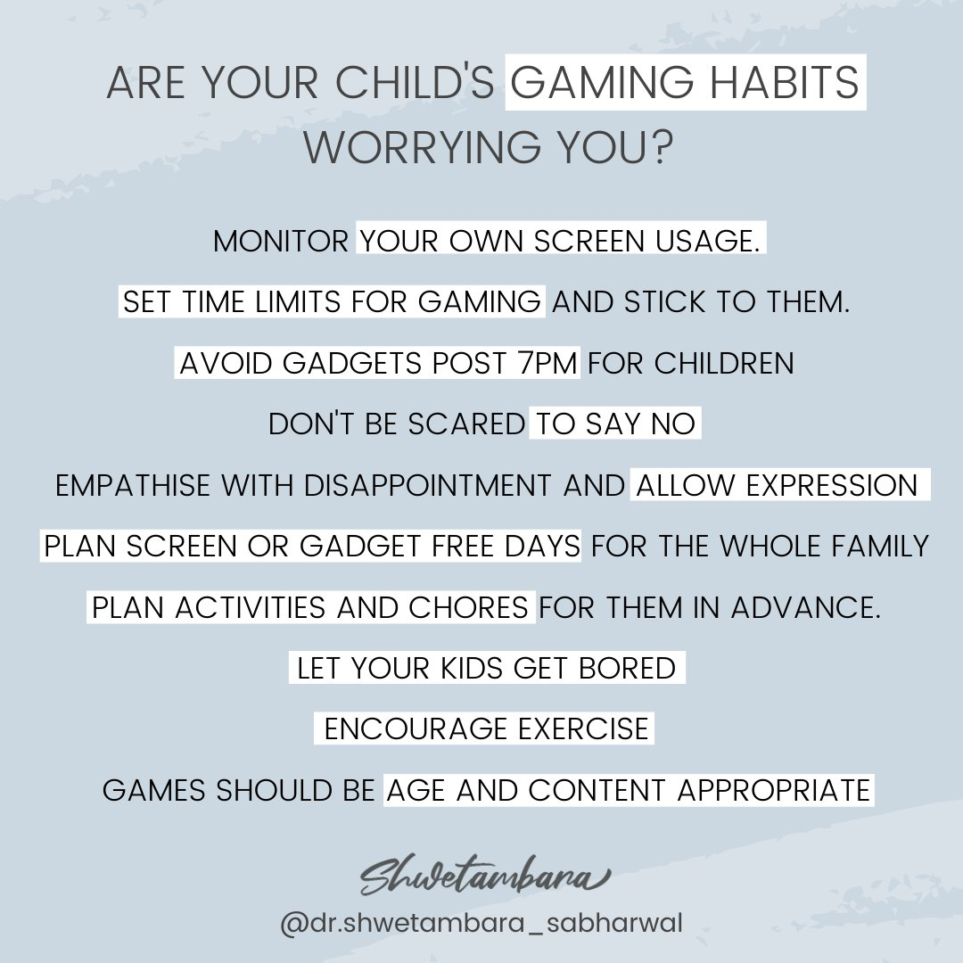 Children in a sizeable number, have gotten hooked onto gaming. Not all #children who are playing are addicted. But spending too much time on the bed or couch has made them more sedentary.  I spoke about how monitoring our own screen time in an Article 👉https://t.co/0FKDpZF70b https://t.co/U7C83gbANS