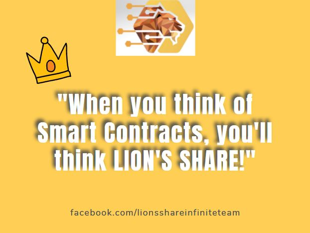 WHEN YOU THINK OF SMART CONTRACTS, YOU'LL THINK LION'S SHARE! Undoubtedly, Lion's Share is the KING OF SMART CONTRACTS!   #lionsshare #smartcontracts #tron #trx #forsage #forsagetron #autoxify #fortron #decentralized #crypto #cryptocurrency #eth #ethereum #tronwallet #launch https://t.co/xYsuGJD1RG