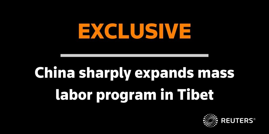 China is pushing growing numbers of Tibetan rural laborers off the land and into recently built military-style training centers where they are turned into factory workers. @catecadell reports https://t.co/yCEtq3PiUj https://t.co/7AJYsxx02T