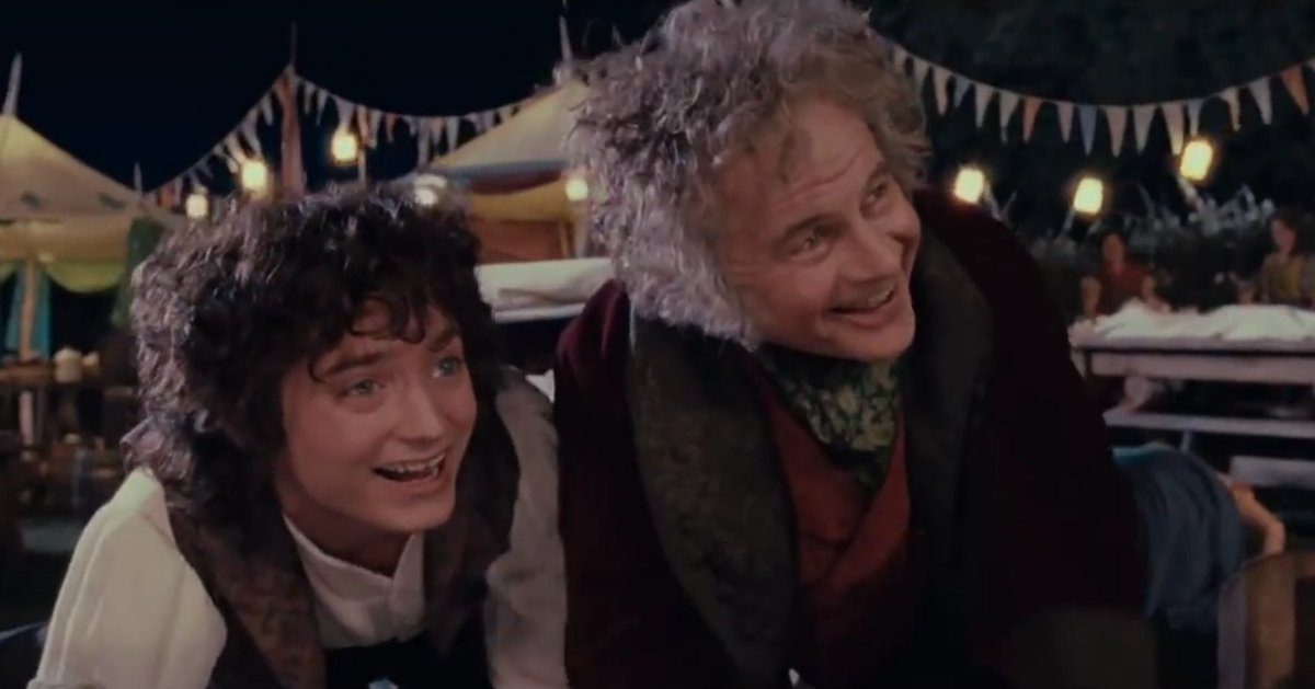 "Happy Hobbit Day! Happy Birthday to  Bilbo and Frodo Baggins.  #HobbitDay #LOTR #GOAT   ""I don't know half of you half as well as I should like, and I like less than half of you half as well as you deserve.  #RIPSirIanHolm and #RIPOrsonBean https://t.co/6qengWGUfc"