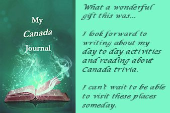 We love #Canada Pages for you to fill in the blanks. Journals are awesome! Multiple states to choose from and wonderful Canada! Tidbits and trivia sprinkled throughout the journal. https://t.co/7Xj1BPvdry #Journals https://t.co/6Wqr3zJpeZ