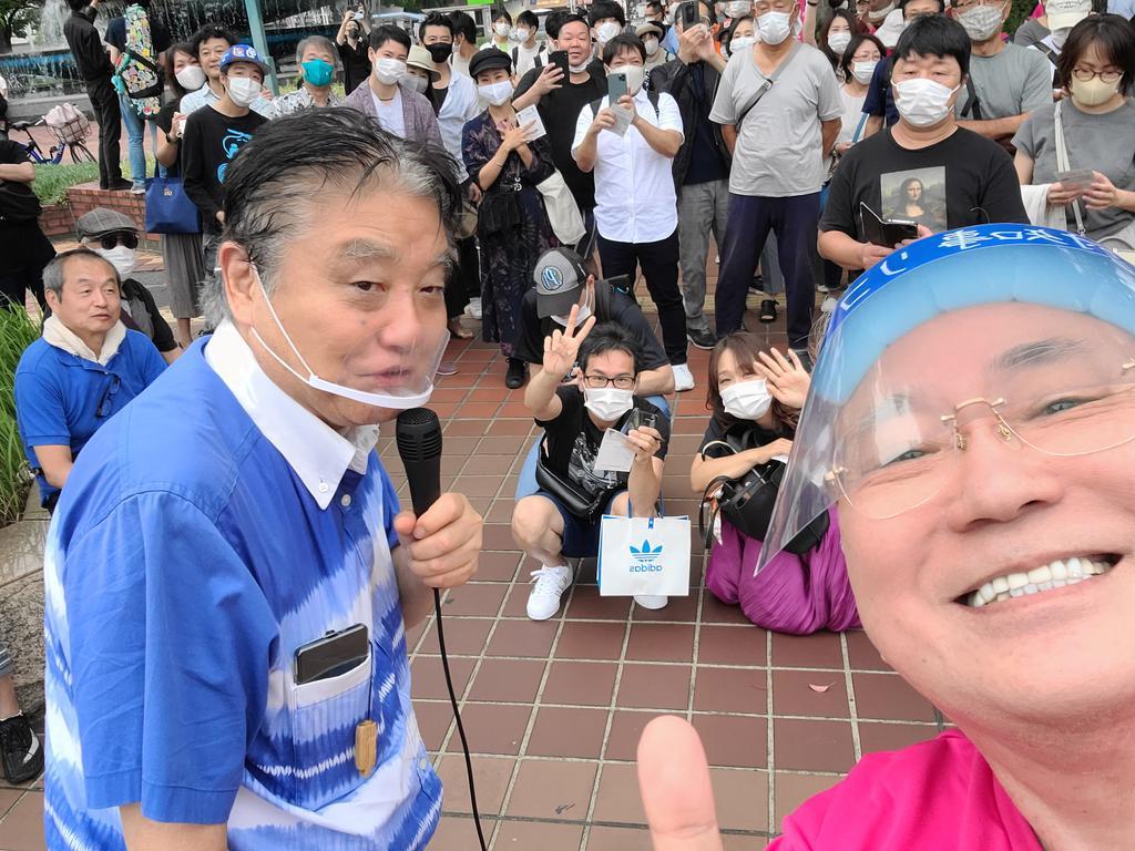 大村愛知県知事リコール応援いっぱい来てるなう https://t.co/degQOZolbm