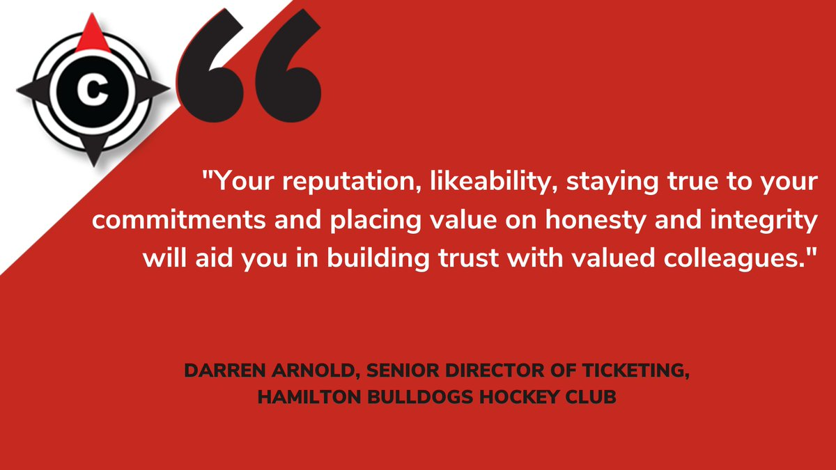Darren Arnold (@DarrArno) is the Senior Director of Ticketing at the @BulldogsOHL.  Darren has been working in the #SportsBiz since 2002 and has tons of experience in a multitude of roles.  Darren shared tips for growing your career in sports.  🔗: https://t.co/JDkaiim372 https://t.co/5fuZfpApDt