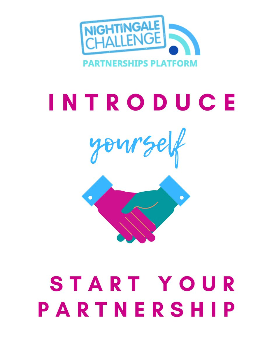 Have you heard the news? We've launched a new #NightingaleChallengePartnershipsPlatform.   Head over to the group and find out more: https://t.co/EgOqfhWnZ3  #Nurses2020 #Midwives2020 #NightingaleChallenge https://t.co/RWIgVusyqS