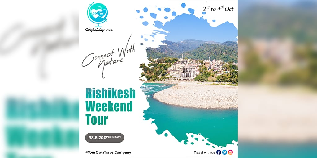 The #Landscape of #Rishikesh is waiting for your arrival. Book your long weekend tour package at just Rs. 6,200 with min. 6 pax.  #GoByHolidays #YourOwnTravelCompany #GoBy #GoByGreen #gobygreenofficial #honeymoontourpackage #honeymoonplanner #coupletour #mumbai #delhi #kolkata https://t.co/zvL47Q7VXJ