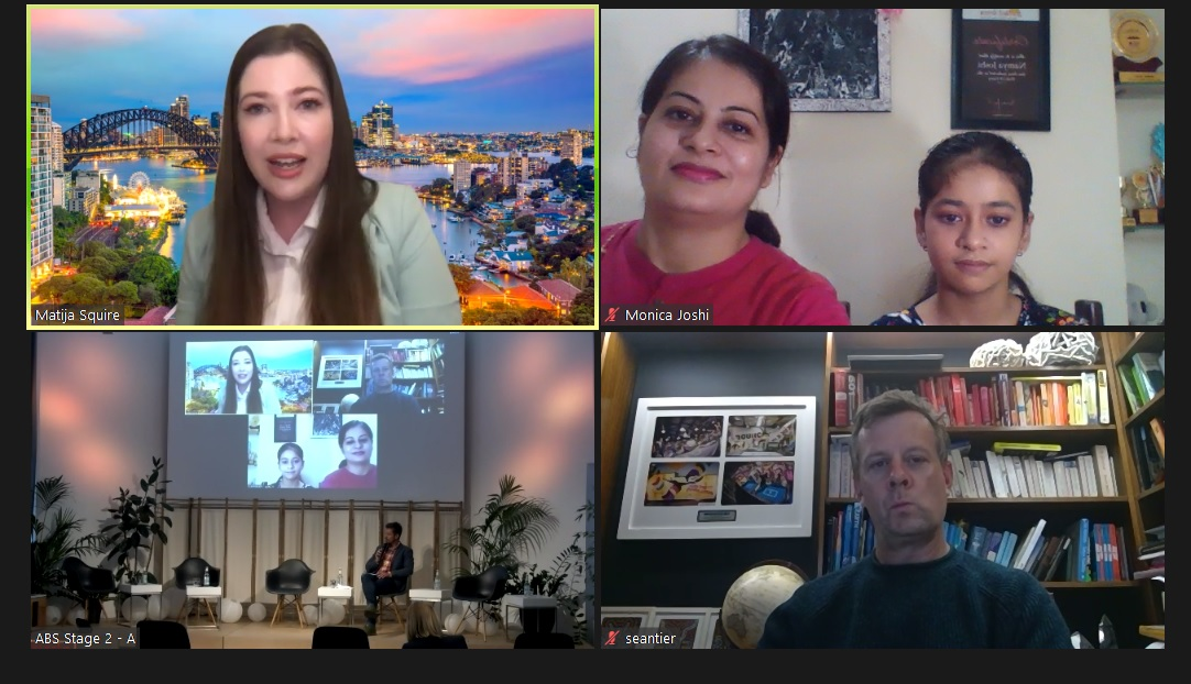 Day 2 @Berlin_Asia  It was a great virtual Fireside chat with Matija, Sean @MicrosoftEDU  @klnamya with our energetic moderator @derkmarseille about Tech and Schooling #MicrosoftEdu #AsiaBerlinSummit  @PlayCraftLearn @vjauhari1 @msbhupinder @sparvell @MeenakshiUberoi @pekkaouli https://t.co/fgBU8x2DSB