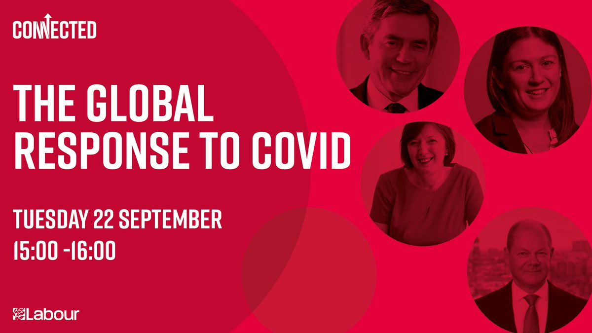 We're going LIVE on Twitter at 3pm for our panel discussion on the global response to Covid-19 with @LisaNandy, @OfficeGSBrown, @OlafScholz, and @FrancesOGrady. Tune in and don't miss out 🌹 #Lab2020 https://t.co/t3SUGmpkqd