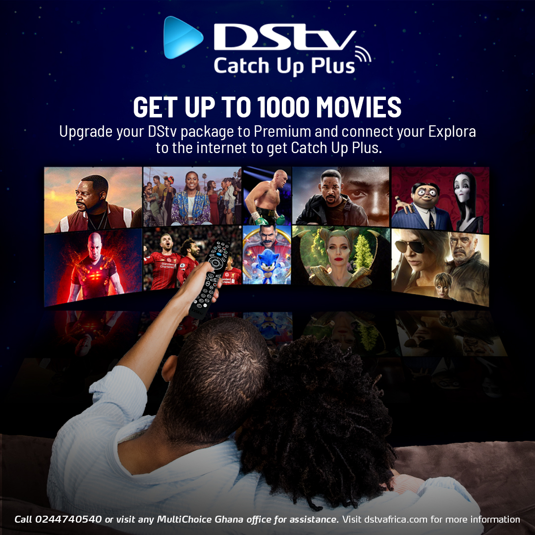 If you're on the DStv Premium package, then you can enjoy an extended on-demand catalogue with an Internet-connected Explora decoder – including those with a Wi-Fi Connector. Catch Up Plus has approximately 2,500 hours of content with an average of 506 hours of series and more! https://t.co/Pv7yg5AdpM