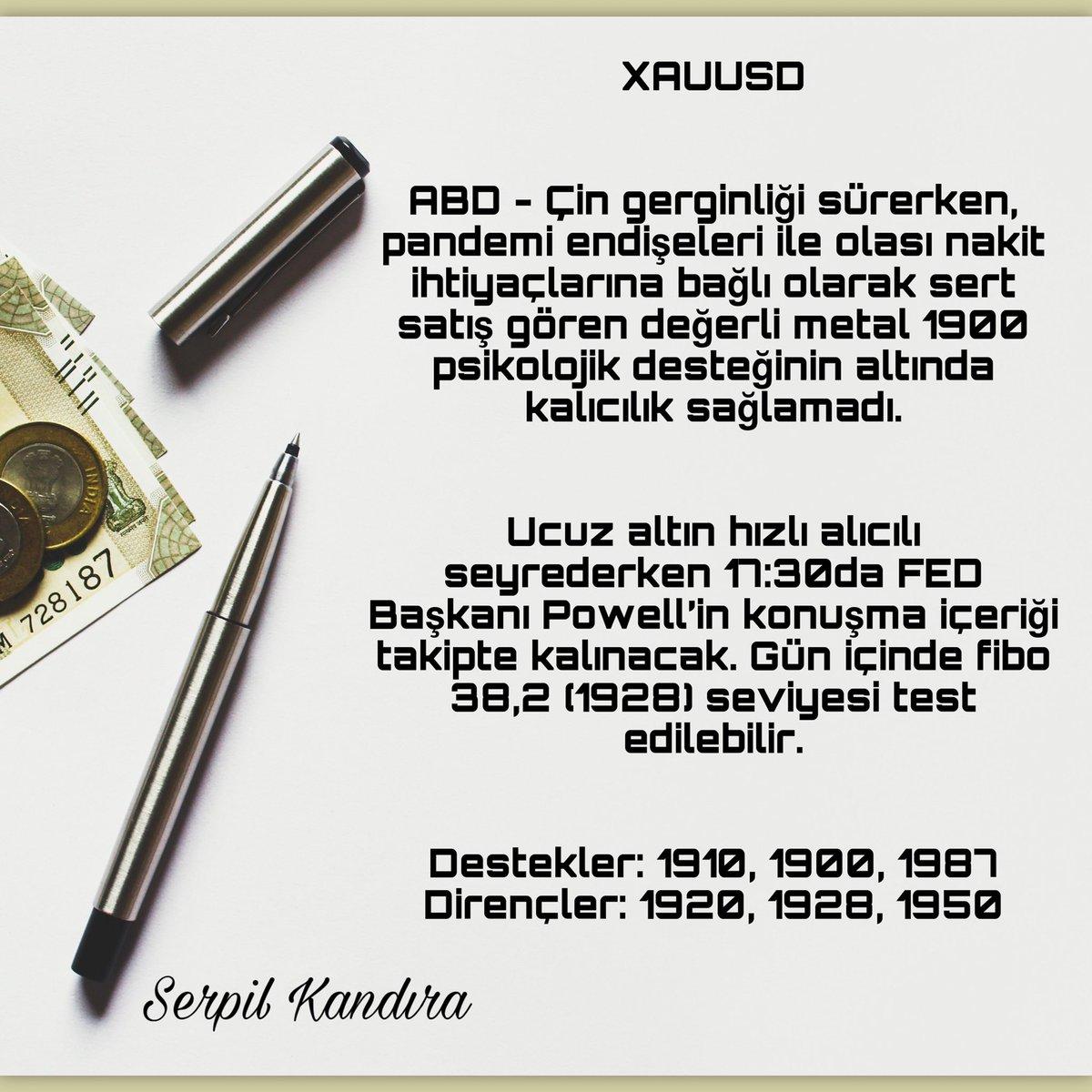 ONS ALTIN - XAUUSD  #forex #fx #forextrader #yatırım #borsa #brent #DAX30 #para #bist #altın #gbpusd #parite #rt #fav https://t.co/2zGihrmCRl