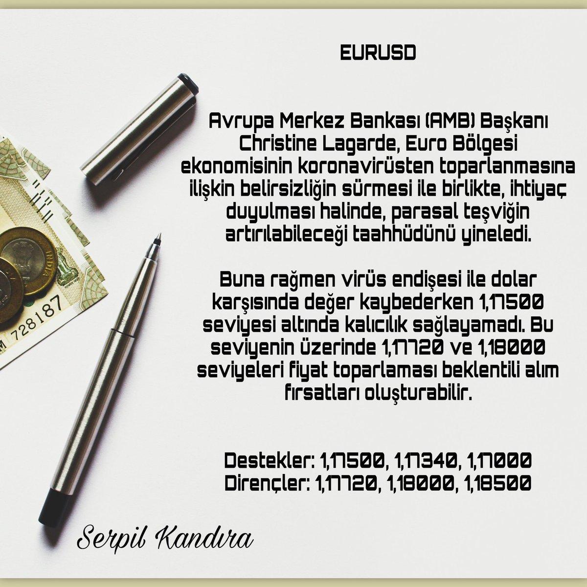 EURUSD  #forex #fx #forextrader #yatırım #borsa #brent #DAX30 #para #bist #altın #gbpusd #parite #rt #fav https://t.co/rYHVL7ZCmF