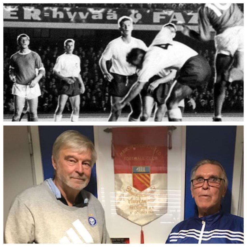 55 vuotta sitten Klubi aloitti Euro-cup taipaleensa Stadikalla pelaten Manua vastaan tuloksella 2-3. Muistatko olitko 15000 katsojan joukosssa? #hjk #OnVainYksiKlubi #palloliitto #ucl #helsinki https://t.co/uodBuS9dl8