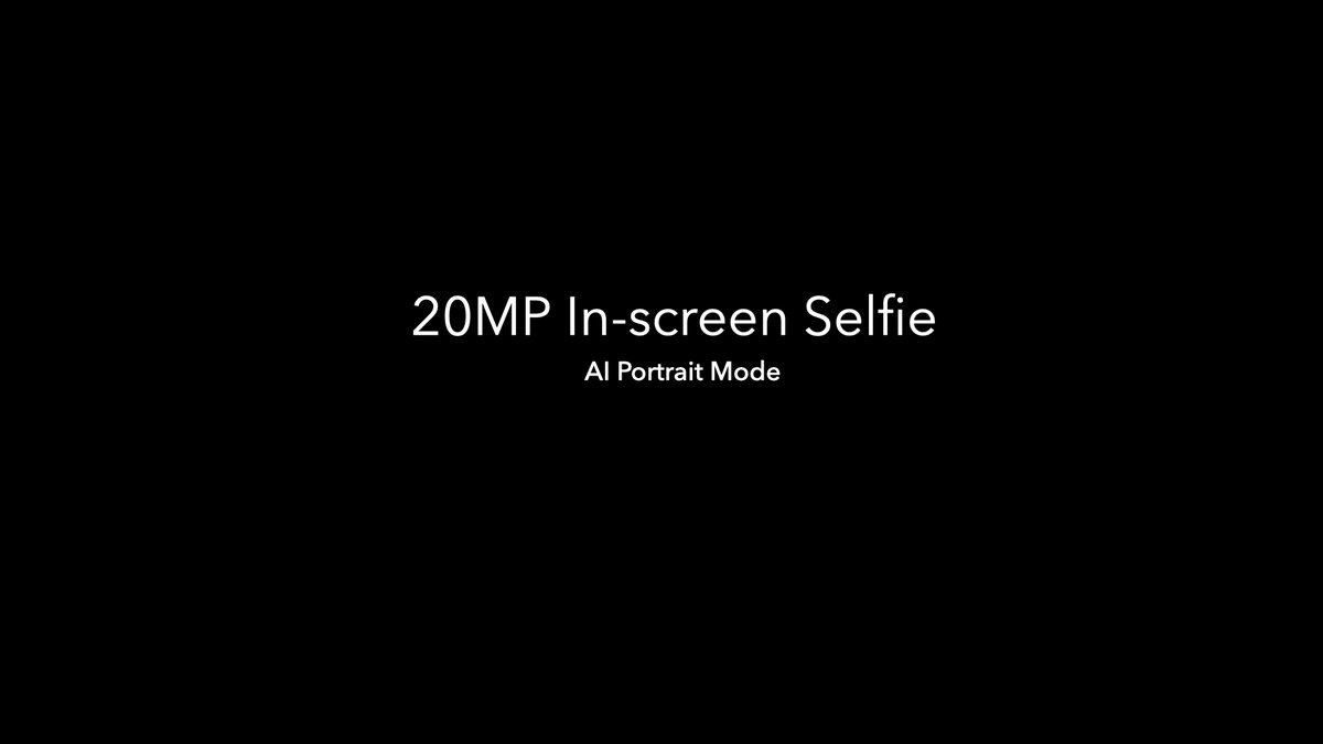 The #POCOX3 brings the 20MP in-screen selfie camera with AI portrait mode to ensure picture perfect selfies! #SmoothAF https://t.co/eJ4GCqC76M
