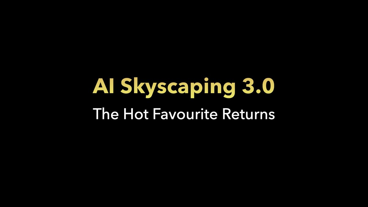 The hot favourite feature returns with a bang. Own the skies with the AI Skyscaping 3.0 feature on the #POCOX3 and add an array of skyscapes to your images at night too. #SmoothAF https://t.co/0GDJVpsTq1