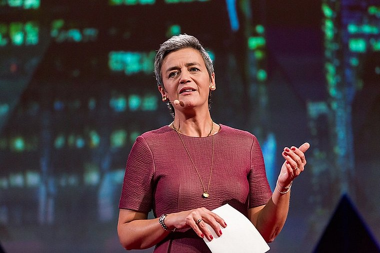 """🇪🇺 This Friday, at 1PM, join us online with @WiMLDS_Brussels to listen to @vestager on """"""""Women in EU Technology and Data Policies"""". She is the Executive Vice-President for a Europe Fit for the Digital Age! Subscribe here:  #WiMLDS #WiMLDSParis #womenintech"""