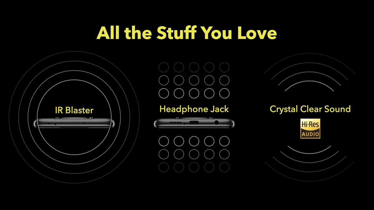The #SmoothAF #POCOX3 also comes with an IR blaster, headphone jack and crystal clear High-Res Audio sound giving you everything that you love and nothing that you don't.  RT if you love it. https://t.co/vtvsZ7Adu5