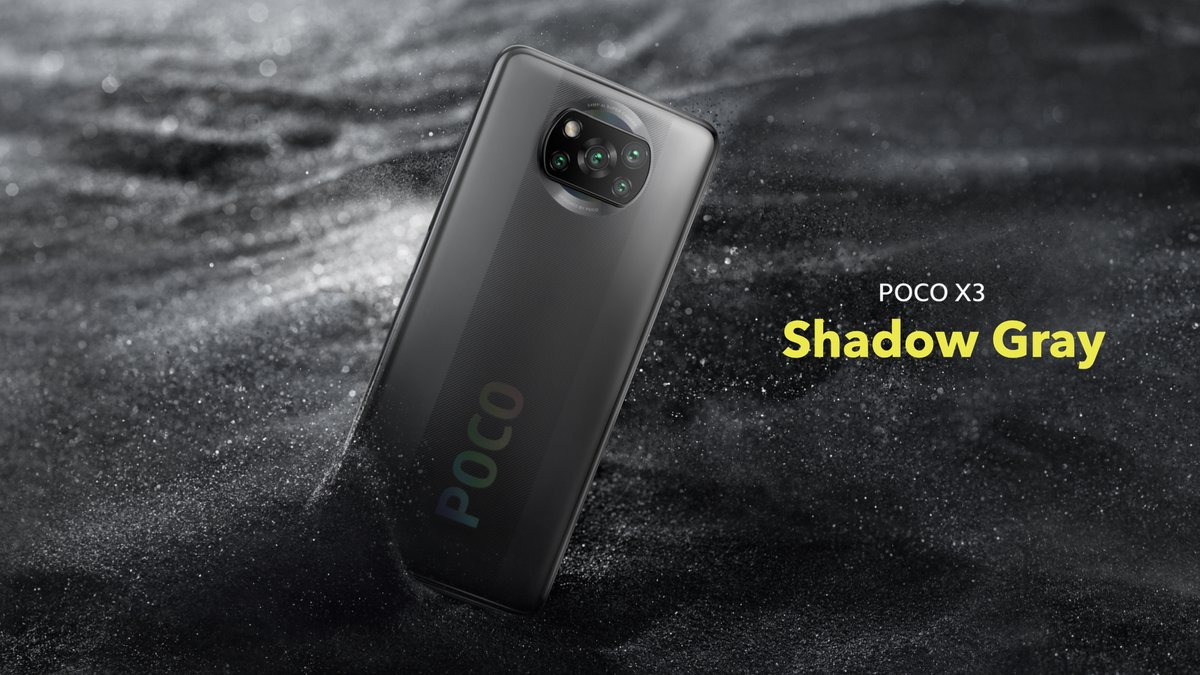 Adding the WOW factor to your personality and how it looks in your hand, the #POCOX3 comes in stunning 2 colours. - Shadow Grey - Cobalt Blue  Which team are you, Team Grey or Team Blue? Tell us in the comments below. #SmoothAF https://t.co/hdqh5xGQw6