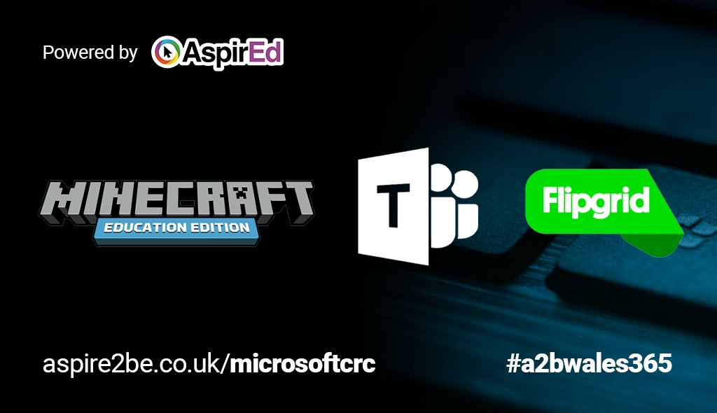 Become a certified #MicrosoftUK #MIE through our FREE online #A2BWales365 events showcasing #Wales MIEExperts & Aspire 2Be teacher ambassadors.  See #playcraftlearn #flipgrid #microsofteams & more! Register at https://t.co/5zsrmxz7mW #MIEExpert #MicrosoftEDU #MSFTEduChat https://t.co/w2hy0cS2er