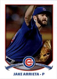 5 years ago today, @Cubs' Jake Arrieta tossed a 3-hit shutout for his 20th win of the season. Read the @SABRGames story: https://t.co/8kk0eruy7T #SABR https://t.co/sMIshORpqd