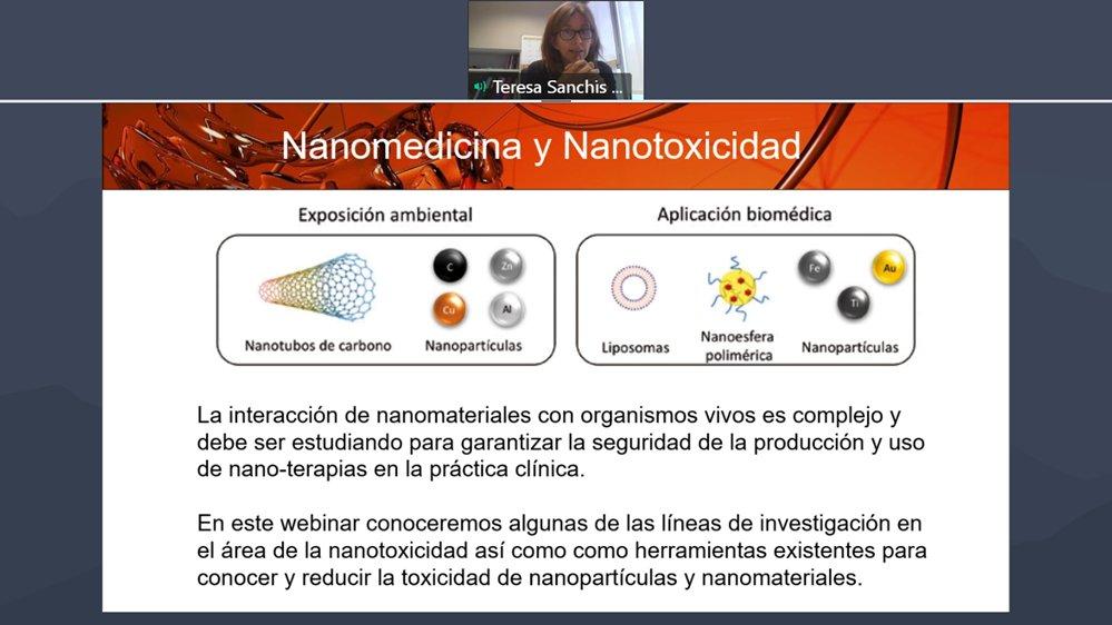 Muy interesante webinar sobre #nanotoxicidad y muy acertadas todas las charlas. Enhorabuena a organizador@s y ponentes.   Una vez más se pone de manifiesto que, aunque se sigue avanzando, queda mucho por hacer en este campo.   #nanoseguridad #nanomedicina https://t.co/p6pTKqDgv2