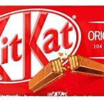 Image for the Tweet beginning: Anyone fancy some chocolate?  Kitkat milk