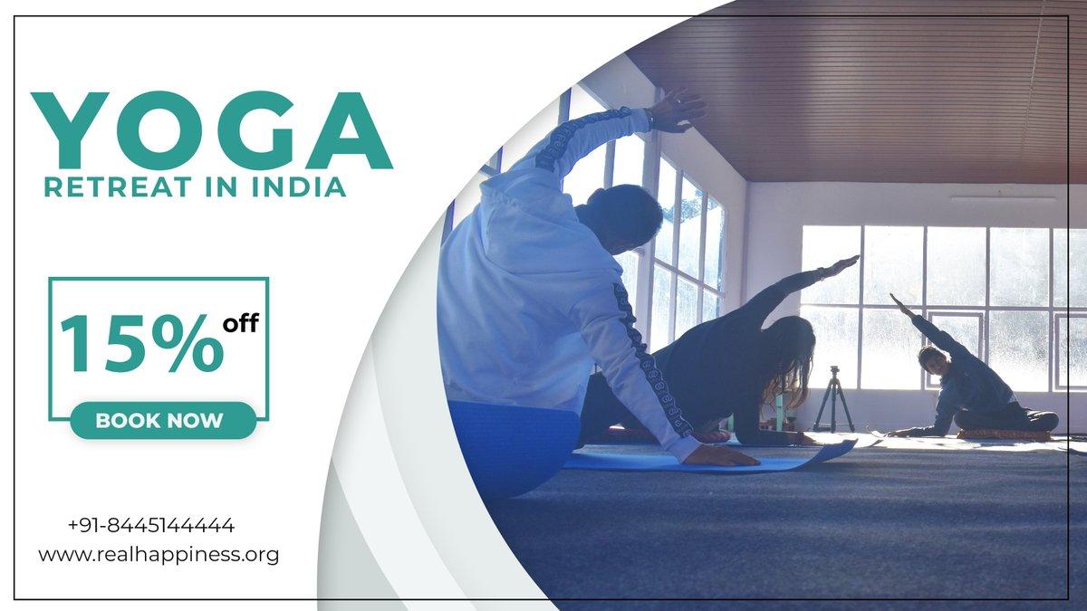 Yoga Retreats in India   Check more information at: https://t.co/icWib3O0CI  #RetreatsinIndia #YogaRetreatsinIndia #KundaliniYogaRetreatinIndia #MeditationYogaRetreatinIndia #Retreats #WellnessPrograms #Relax #RealHappiness #Rishikesh #India https://t.co/uGksoaVVYm