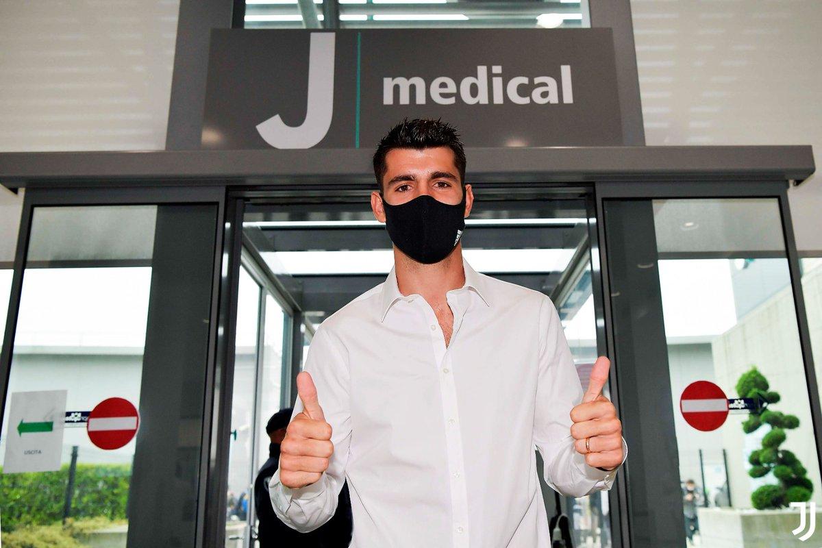 Have a great medical, @AlvaroMorata! 👍🏼  📸https://t.co/Rh7xNiQKVD  #FinoAllaFine #ForzaJuve https://t.co/9LZ0tYsO2N