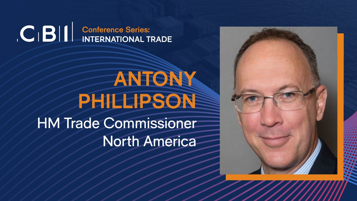 Register for our virtual #internationaltrade conference.   Join a panel discussion on the US-UK trade deal and hear from speakers such as @AJPhillipson, HM Trade Commissioner, North America, on how UK business can break into US state markets.  Sign up: https://t.co/6O5sJAQlub https://t.co/fQghTwZuaH