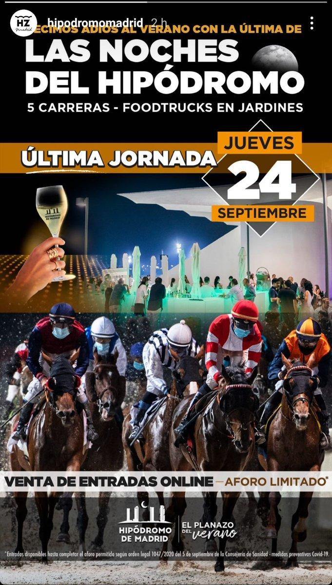Plan para el jueves en Madrid. #planazo,#madrid,#apuestas,#carreras https://t.co/hzmv9IqnJz