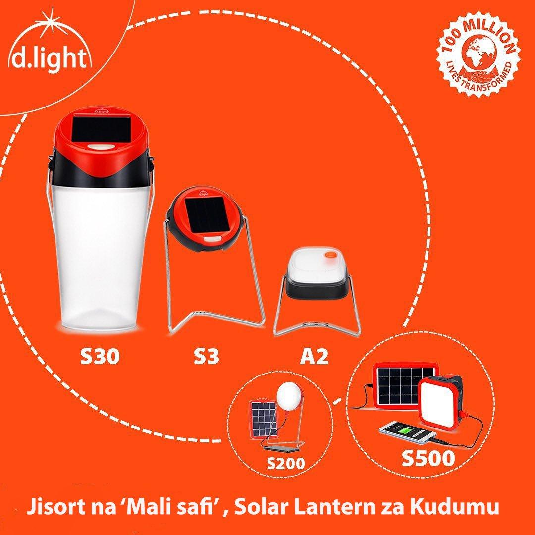 Charge simu yako na upate mwangaza mahali popote kila mara kwa bei nafuu.  A2 - Kes 455/- ✅ S3 - Kes 515/- ✅ S30 - Kes 1255/- ✅ S200 - Kes 2280/- ✅ S500 - Kes 3420/- ✅  Jiunge nasi kupitia ☎️  0800721110 au WhatsApp chat 254110944900 #solar  #makinglifebrighter https://t.co/8zsRzFZwgP