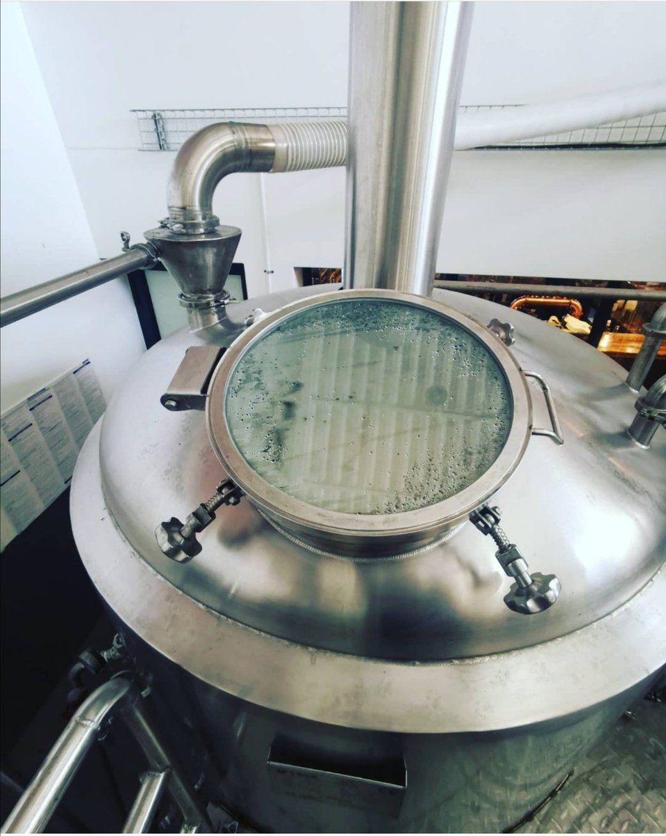 Brewing our Sandveld Lager today 🍻 Beautiful in its simplicity, Sandveld is a light bodied, refreshing and humbly hopped beer.  Open Tuesday-Sunday 12am till 9pm  #CharliesBrewery #CraftBeer https://t.co/aBU0j97vDd