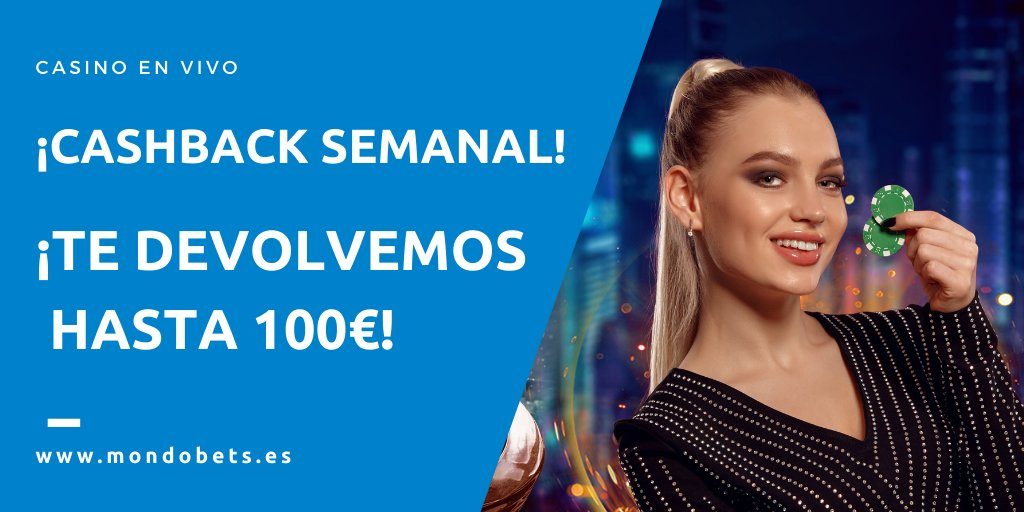 🃏 Casino en vivo 🚨 No te pierdas la promo 💰Te devolvemos hasta 100€  T&C 👉 https://t.co/X5OHE9oJUu #casino #deportes #apuestas https://t.co/wyCZNzpmNX