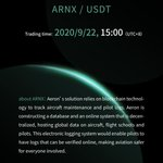 Image for the Tweet beginning: Trade $ARNX at @WBFEx, a