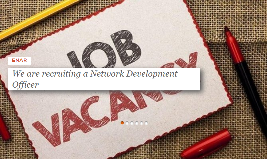 ENAR is recruiting a Network Development Officer  The officer is in charge of conceptualising and implementing membership engagement and capacity building strategies for ENAR's member organisations. Deadline for applications: 23 September 2020.  Apply Now: https://t.co/E4Xp3Ulb0Q https://t.co/HUzmDS4PjG