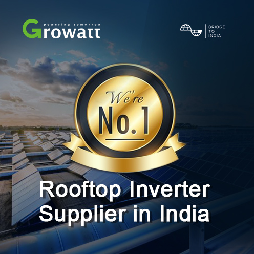 According to India Solar Rooftop Map released by BridgeToIndia, #Growatt continues to be the No.1 #rooftop #solar inverter supplier in India! Growatt leads the rooftop sector and takes over 23% of the market share. Be confident to choose Growatt, the No.1 rooftop inverter brand! https://t.co/9KNlIU0GJ3